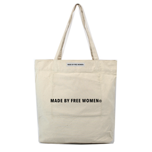 MARKET TOTE MADE BY FREE WOMEN
