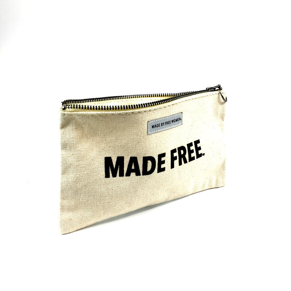 POUCH NATURAL MADE FREE