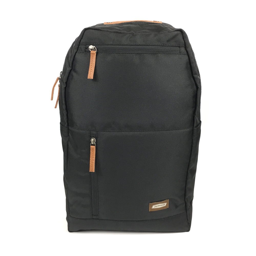 vintage canvas backpack. waterproof canvas backpack. canvas laptop backpack. large canvas backpack. 100recycled backpack. socially responsible backpacks. backpacks made from recycled materials. sustainable travel bag. book bags for college. backpacks for school. black