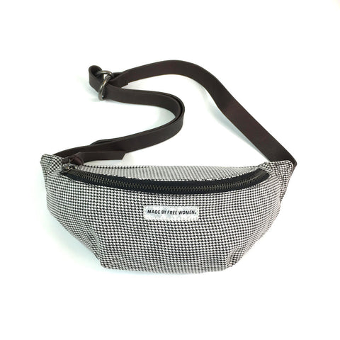 SPORT BAG HOUNDSTOOTH