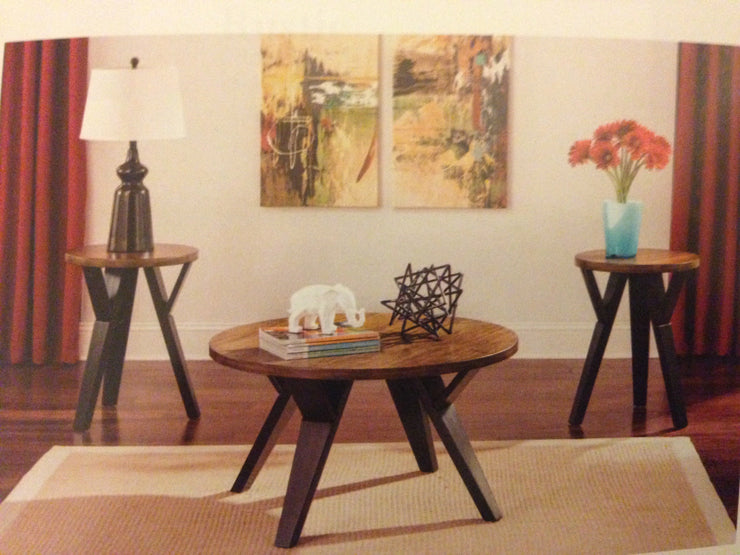 CNLt267 Ingle Round Coffee Table Set