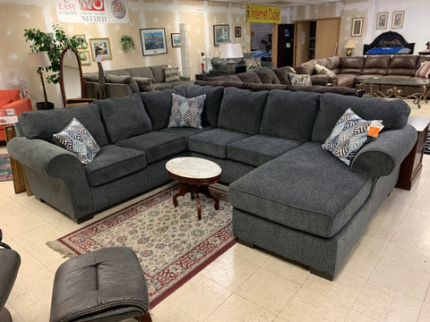 CNL3051 Charisma Smoke Sectional