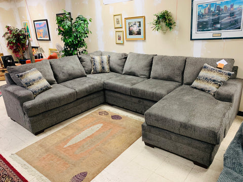 CNL2750 Cornell Pewter Sectional