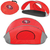 San Francisco 49ers 'Manta' Sun Shelter-Red Digital Print
