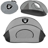 Oakland Raiders 'Manta' Sun Shelter-Grey Digital Print