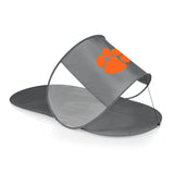 Clemson Tigers Personal Sun Shelter-Silver Digital Print