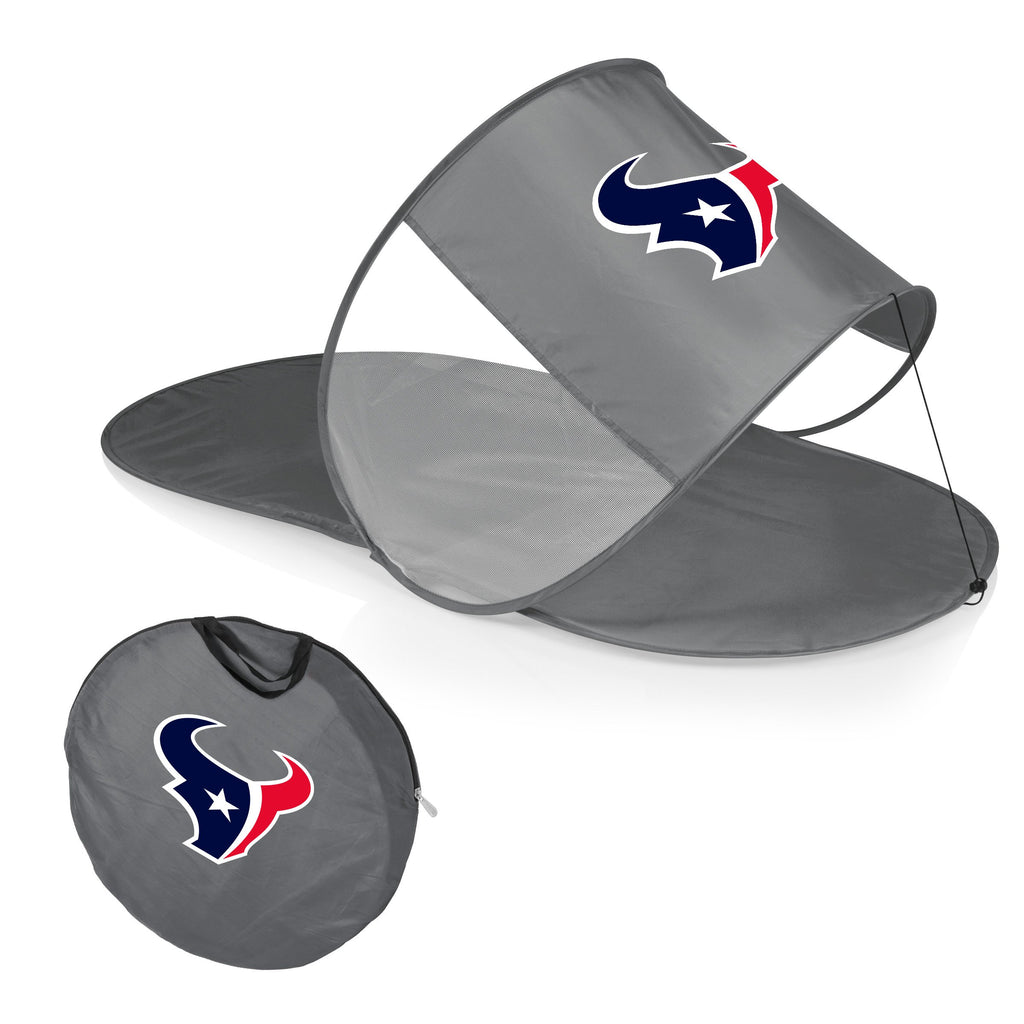 Houston Texans Personal Sun Shelter-Silver Digital Print