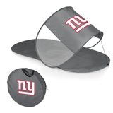 New York Giants Personal Sun Shelter-Silver Digital Print