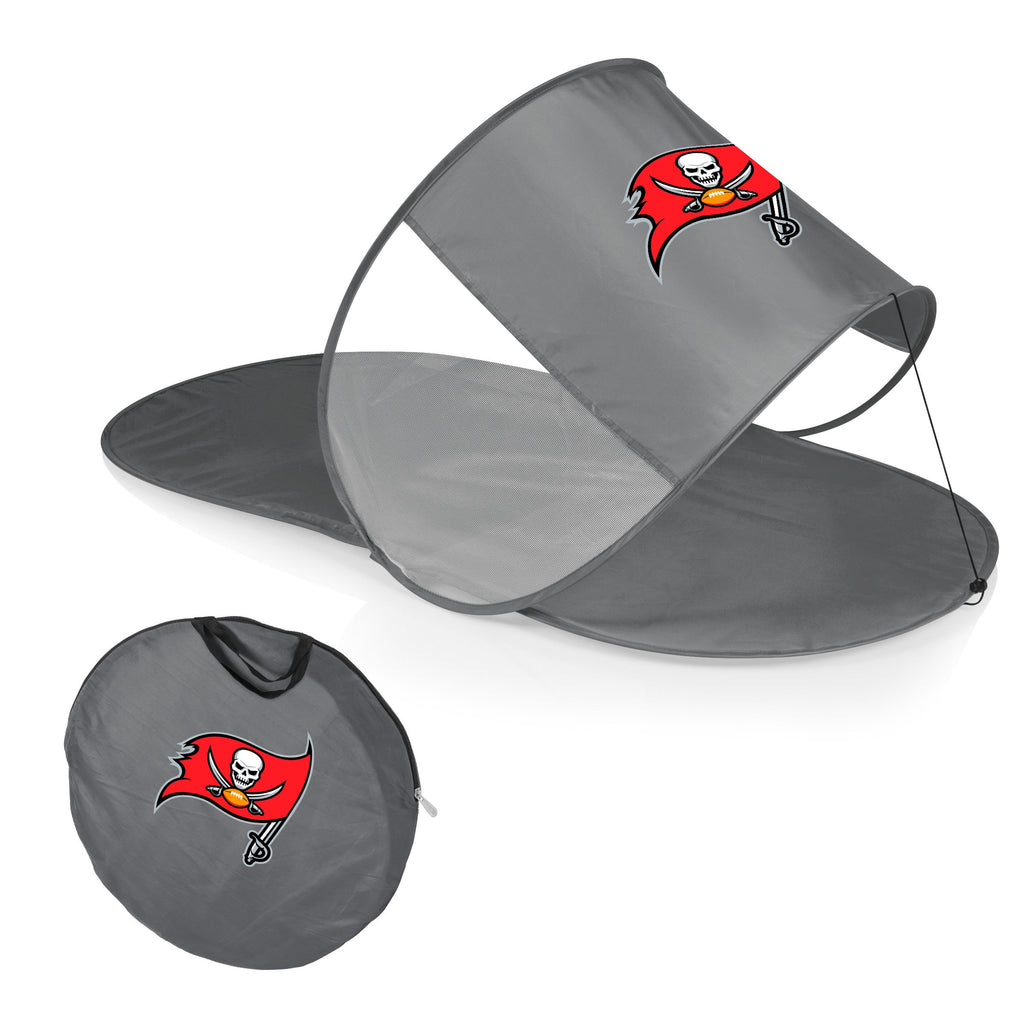 Tampa Bay Buccaneers Personal Sun Shelter-Silver Digital Print