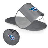 Tennessee Titans Personal Sun Shelter-Silver Digital Print
