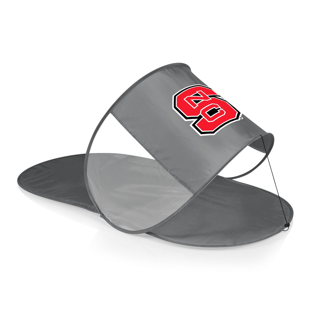 NC State Wolfpack Personal Sun Shelter-Silver Digital Print