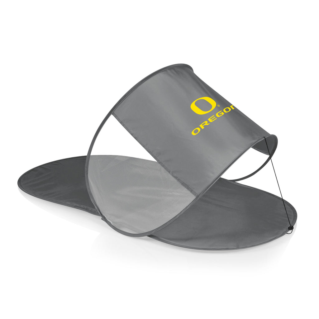 Oregon Ducks Personal Sun Shelter-Silver Digital Print