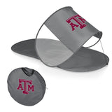 Texas A&M Aggies Personal Sun Shelter-Silver Digital Print