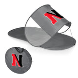 Northeastern Huskies Personal Sun Shelter-Silver Digital Print