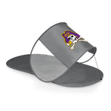 East Carolina Pirates Personal Sun Shelter-Silver Digital Print