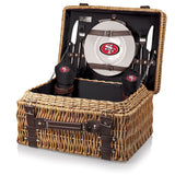 San Francisco 49ers 'Champion' Picnic Basket