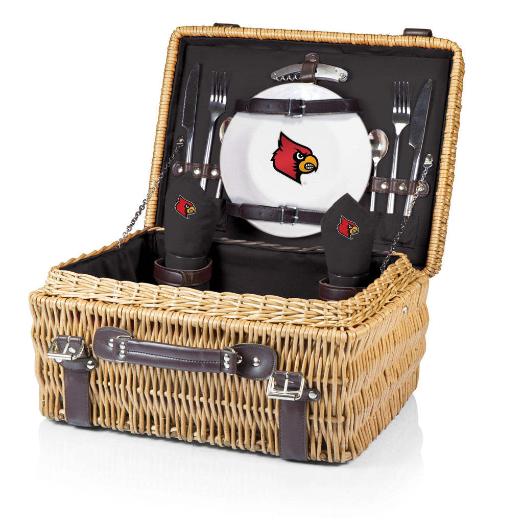 Louisville Cardinals 'Champion' Picnic Basket