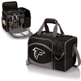 Atlanta Falcons 'Malibu' Picnic Cooler Tote-Black Digital Print