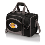 Los Angeles Lakers 'Malibu' Picnic Cooler Tote-Black Digital Print