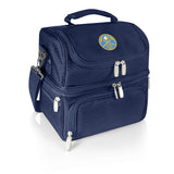 Denver Nuggets 'Pranzo' Lunch Tote-Navy Digital Print