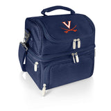 Virginia Cavaliers 'Pranzo' Lunch Tote-Navy Digital Print