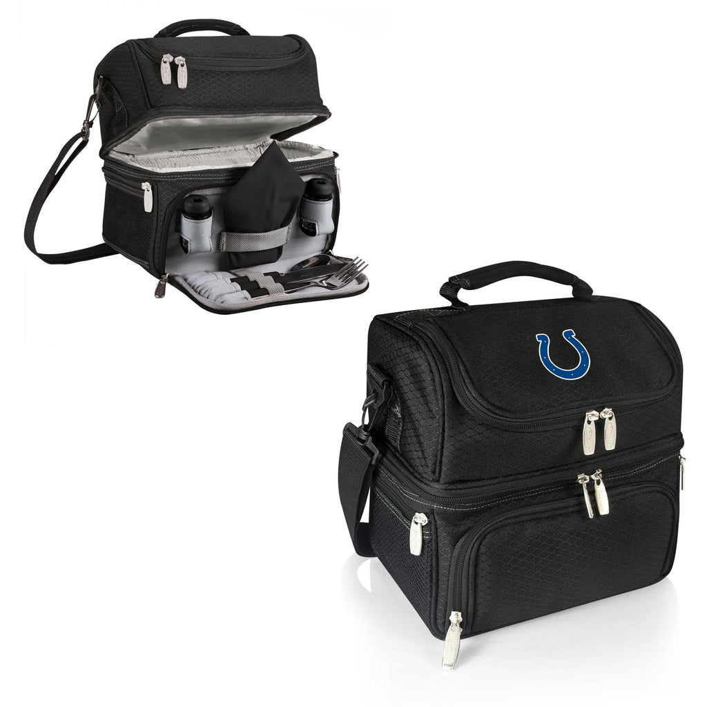 Indianapolis Colts 'Pranzo' Lunch Tote-Black Digital Print