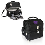 Kansas State Wildcats 'Pranzo' Lunch Tote-Black Digital Print