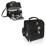 Portland Trailblazers 'Pranzo' Lunch Tote-Black Digital Print
