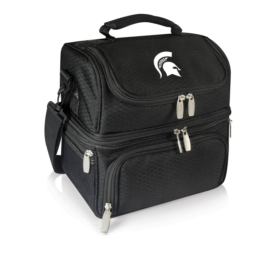 Michigan State Spartans 'Pranzo' Lunch Tote-Black Digital Print