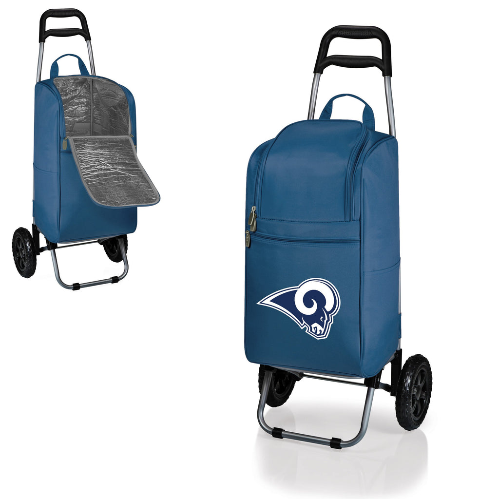 Los Angeles Rams Cart Cooler with Trolley
