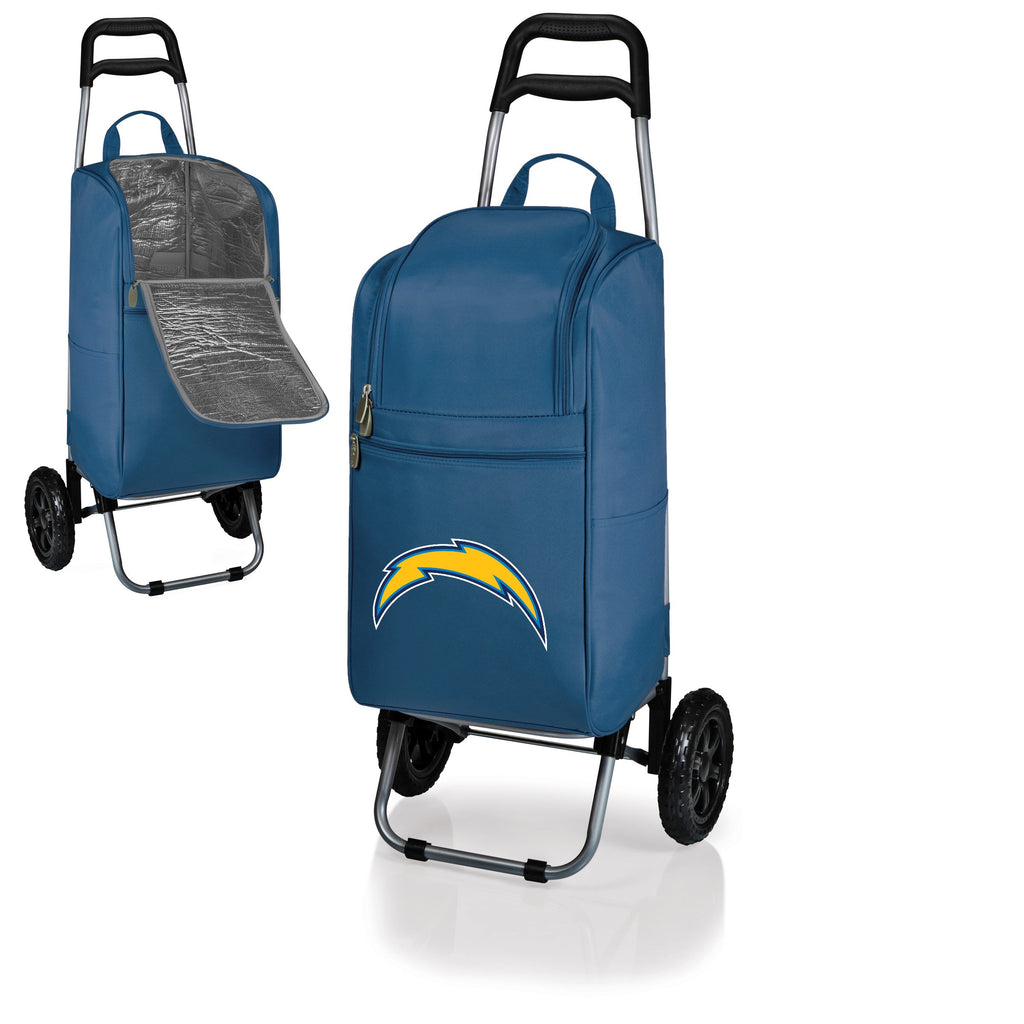 Los Angeles Chargers Cart Cooler with Trolley-Navy Digital Print