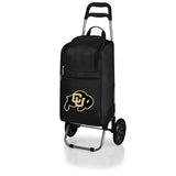 Colorado Buffaloes Cart Cooler with Trolley-Black Digital Print