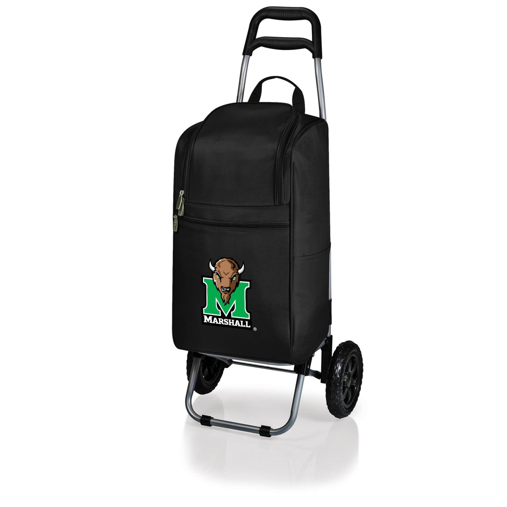 Marshall Thundering Herd Cart Cooler with Trolley-Black Digital Print