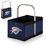 Oklahoma City Thunder 'Urban Basket' Collapsible Tote-Navy Digital Print