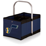 Utah Jazz 'Urban Basket' Collapsible Tote-Navy Digital Print