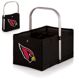 Arizona Cardinals 'Urban Basket' Collapsible Tote-Black Digital Print