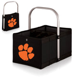 Clemson Tigers 'Urban Basket' Collapsible Tote-Black Digital Print
