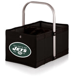 New York Jets 'Urban Basket' Collapsible Tote-Black Digital Print