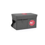 Atlanta Hawks Ottoman Cooler & Seat-Grey Digital Print