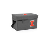 Illinois Fighting Illini Ottoman Cooler & Seat-Grey Digital Print