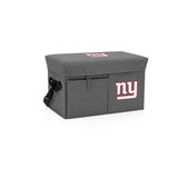 New York Giants Ottoman Cooler & Seat-Grey Digital Print