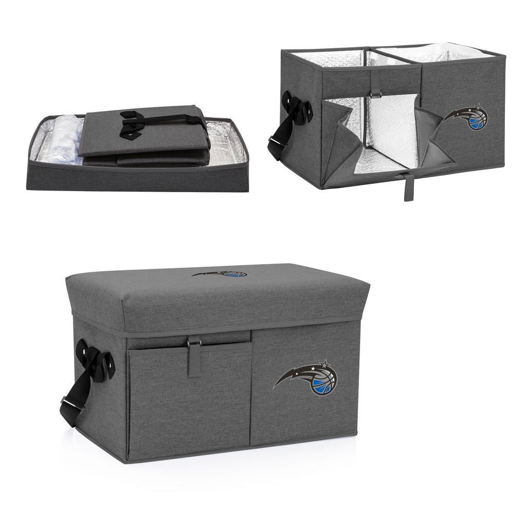Orlando Magic Ottoman Cooler & Seat-Grey Digital Print
