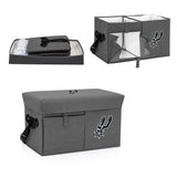 San Antonio Spurs Ottoman Cooler & Seat-Grey Digital Print