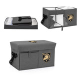 West Point Black Knights Ottoman Cooler & Seat-Grey Digital Print