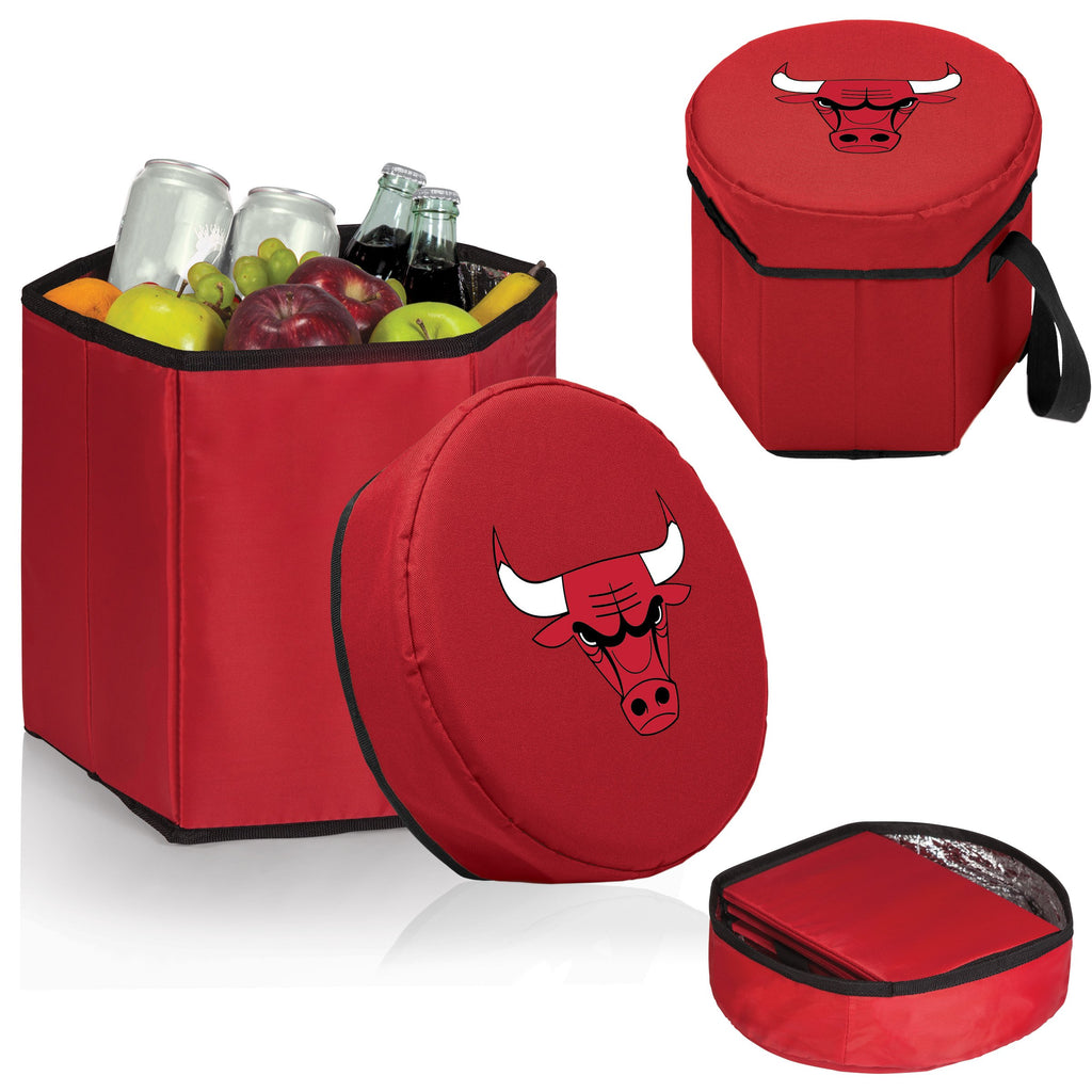 Chicago Bulls 'Bongo' Cooler & Seat-Red Digital Print