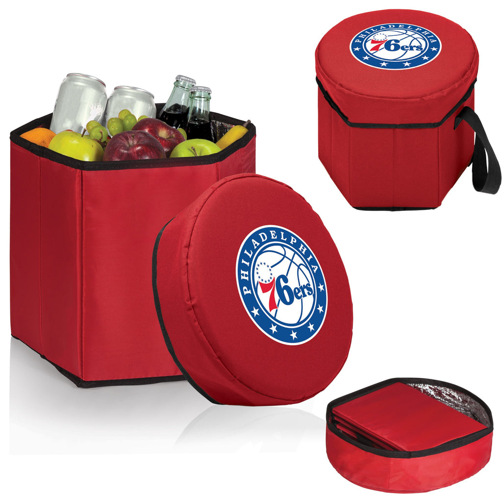 Philadelphia 76ers 'Bongo' Cooler & Seat-Red Digital Print