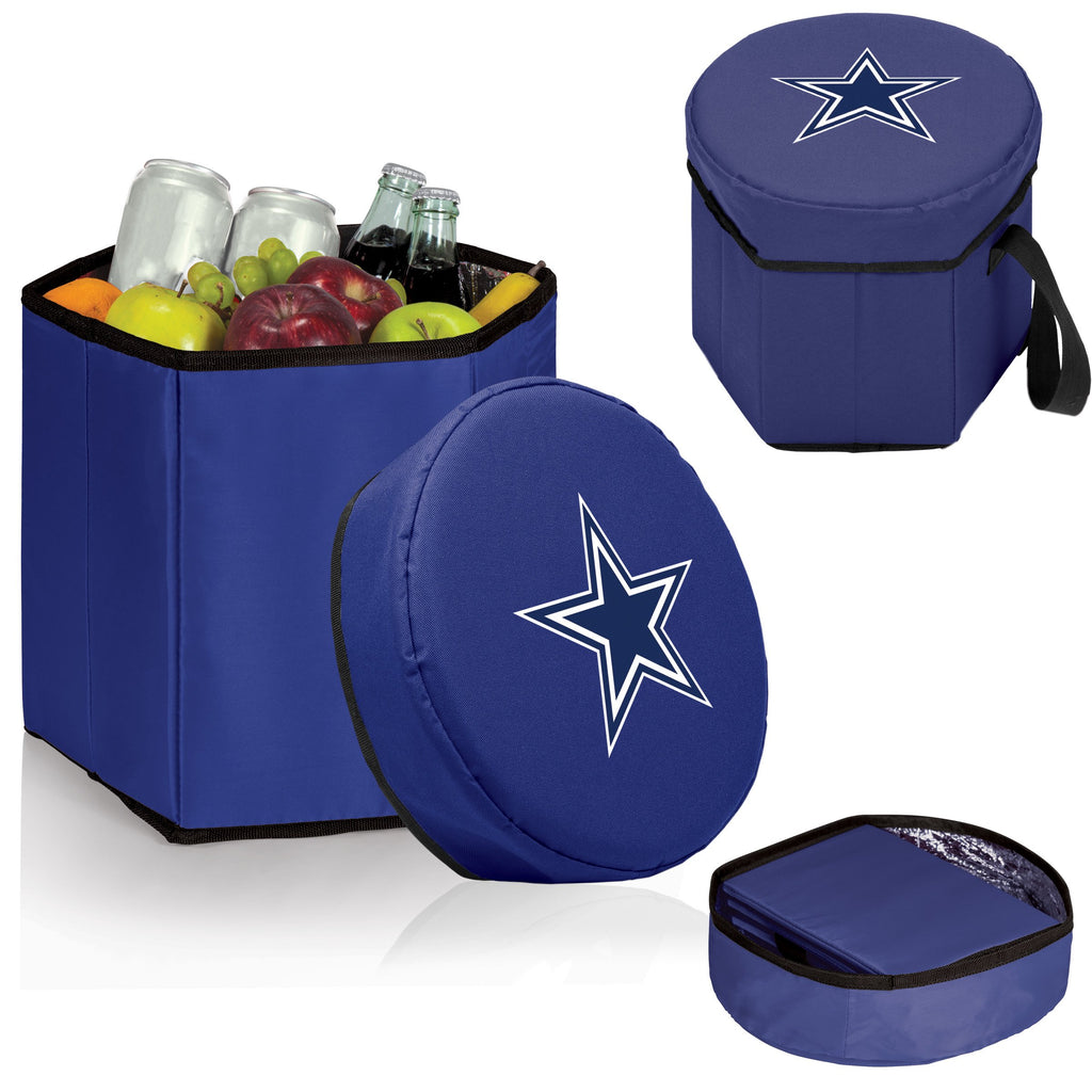 Dallas Cowboys 'Bongo' Cooler & Seat-Navy Digital Print