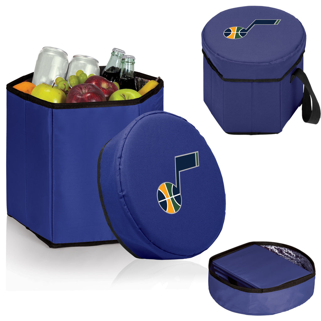 Utah Jazz 'Bongo' Cooler & Seat-Navy Digital Print