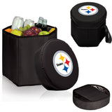 Pittsburgh Steelers 'Bongo' Cooler & Seat-Black Digital Print