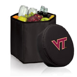 Virginia Tech Hokies 'Bongo' Cooler & Seat-Black Digital Print